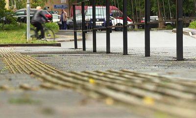 В Гомеле создают безопасную среду для инвалидов по зрению - фото