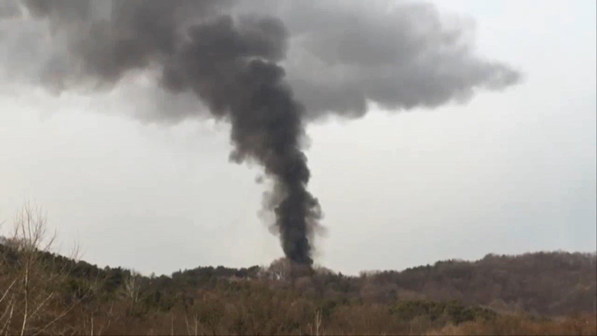 КНДР взорвала межкорейский офис связи в Кэсоне - Фото