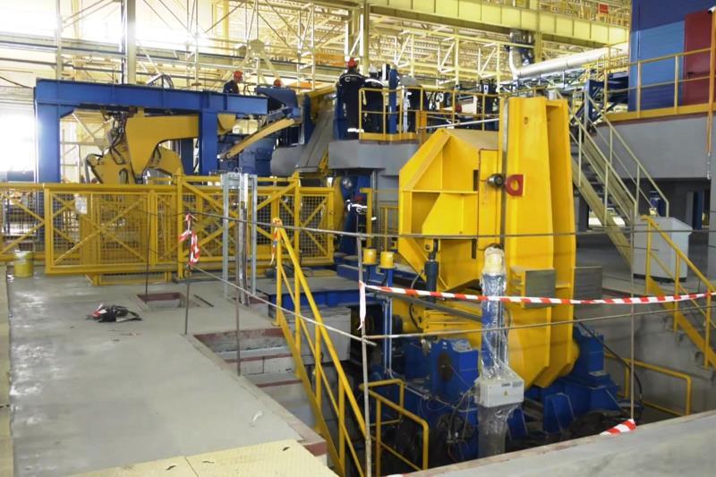 строительство металлопрокатного завода - фото