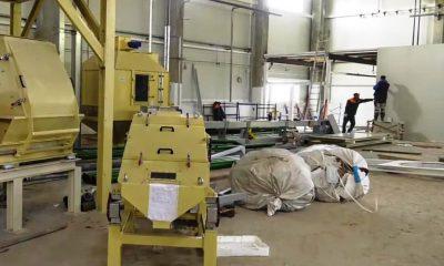 строительство пеллетного завода - фото