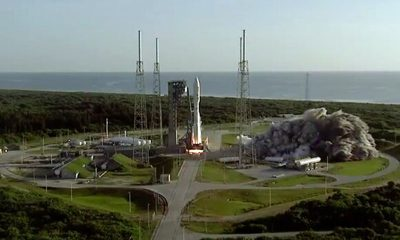 NASA запустило ракету-носитель с марсоходом Perseverance - Фото