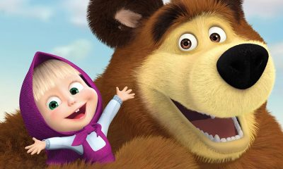 Мультсериал «Маша и Медведь» вошел в топ-5 любимых детских шоу мира - Фото