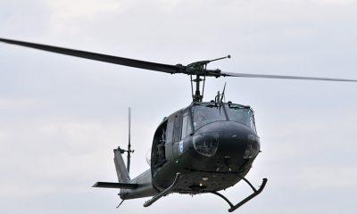 Четыре человека погибли при крушении военного вертолета на Филиппинах - Фото