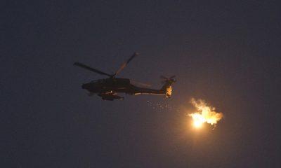 Израиль нанес удар по военным объектам Сирии в районе Голанских высот - Фото
