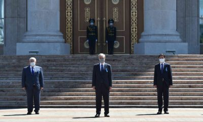 В Казахстане прошла минута молчания в память о жертвах коронавируса - Фото
