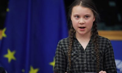 Грета Тунберг и Луиза Нойбауэр призвали ЕС усилить борьбу склиматическим кризисом - Фото