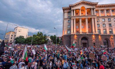 Протесты в Болгарии длятся тринадцатый день - Фото