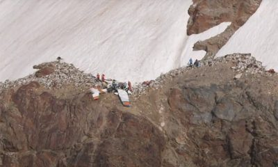 Четыре человека погибли при крушении небольшого самолета в Альпах - Фото