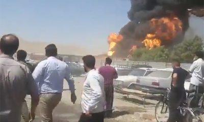 В Иране произошел взрыв шести бензовозов - Фото