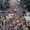 В Берлине около 10 тыс. человек протестовали против карантина - Фото