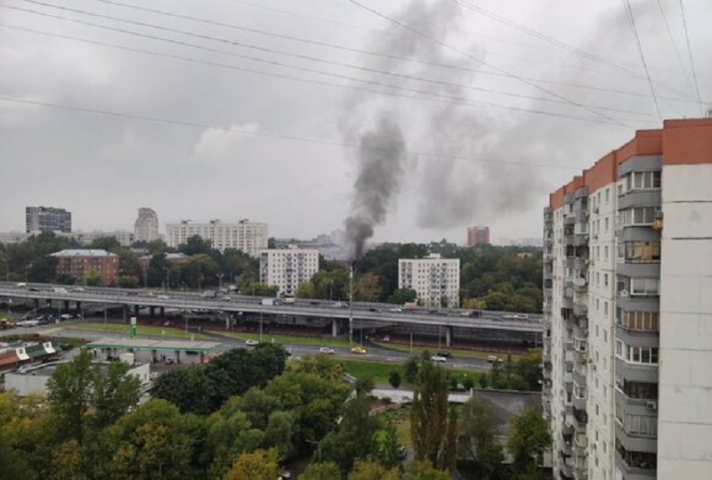 Взрыв произошел в жилом доме на западе Москвы - Фото