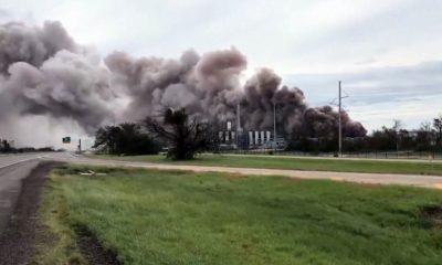 Утечка хлора произошла на заводе в Луизиане из-за урагана «Лаура» - Фото