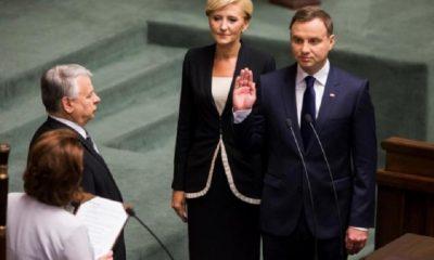 Анджей Дуда приведен к присяге президента Польши - Фото