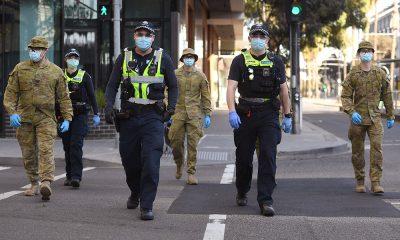В Мельбурне ввели комендантский час из-за коронавируса - Фото