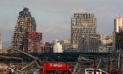 Макрон заявил об ответственности руководства Ливана из-за взрыва в Бейруте - Фото