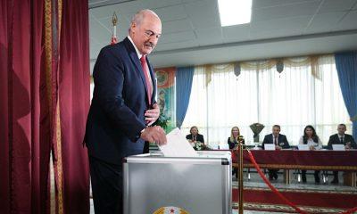 ЦИК Беларуси сообщил предварительные итоги выборов президента страны - Фото
