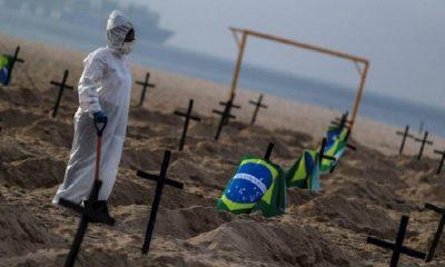 Число умерших из-за коронавируса в Бразилии превысило 100 тыс. - Фото