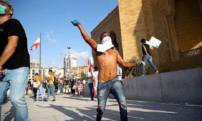 В Бейруте прошли антиправительственные протесты - Фото