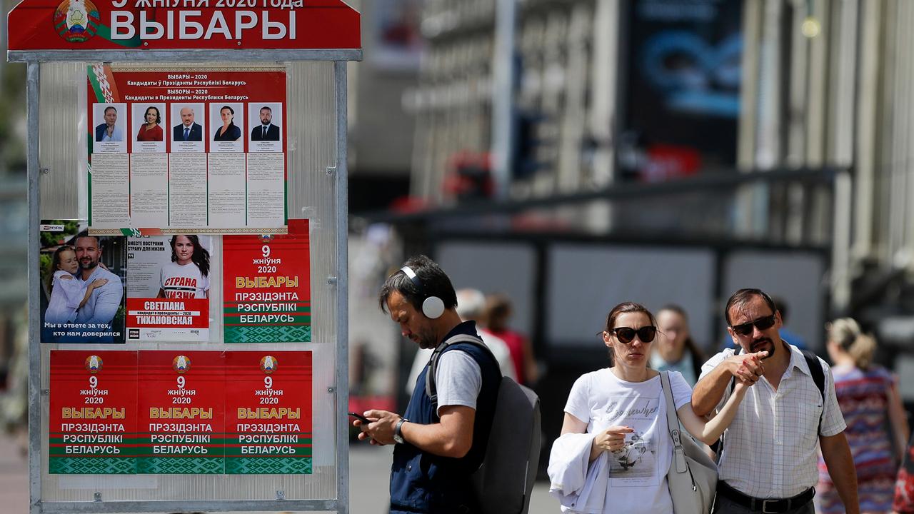 Три страны ЕС призвали провести честные выборы в Беларуси - Фото