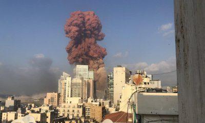 Стало известно о выбросе опасных веществ в атмосферу при взрыве в Бейруте - Фото