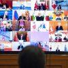 Лидеры ряда государств провели сегодня конференцию по мерам поддержки Ливана - Фото