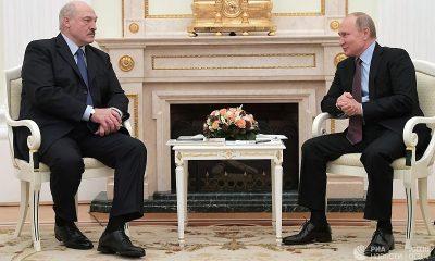 Путин и Лукашенко договорились в ближайшие недели встретиться в Москве - Фото