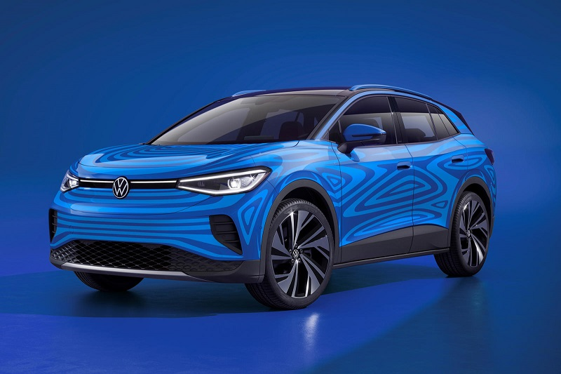 Volkswagen начал серийное производство электрического кроссовера ID.4 - Фото