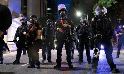 Трамп назвал условия для вывода федеральных силовиков из Портленда - Фото