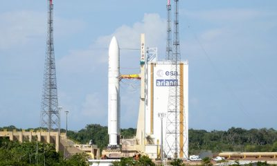 Перенесенный запуск с Куру ракеты Ariane 5 назначен на 14 августа - Фото