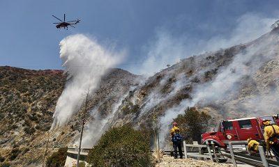 В Калифорнии эвакуируют тысячи людей из-за природных пожаров - Фото