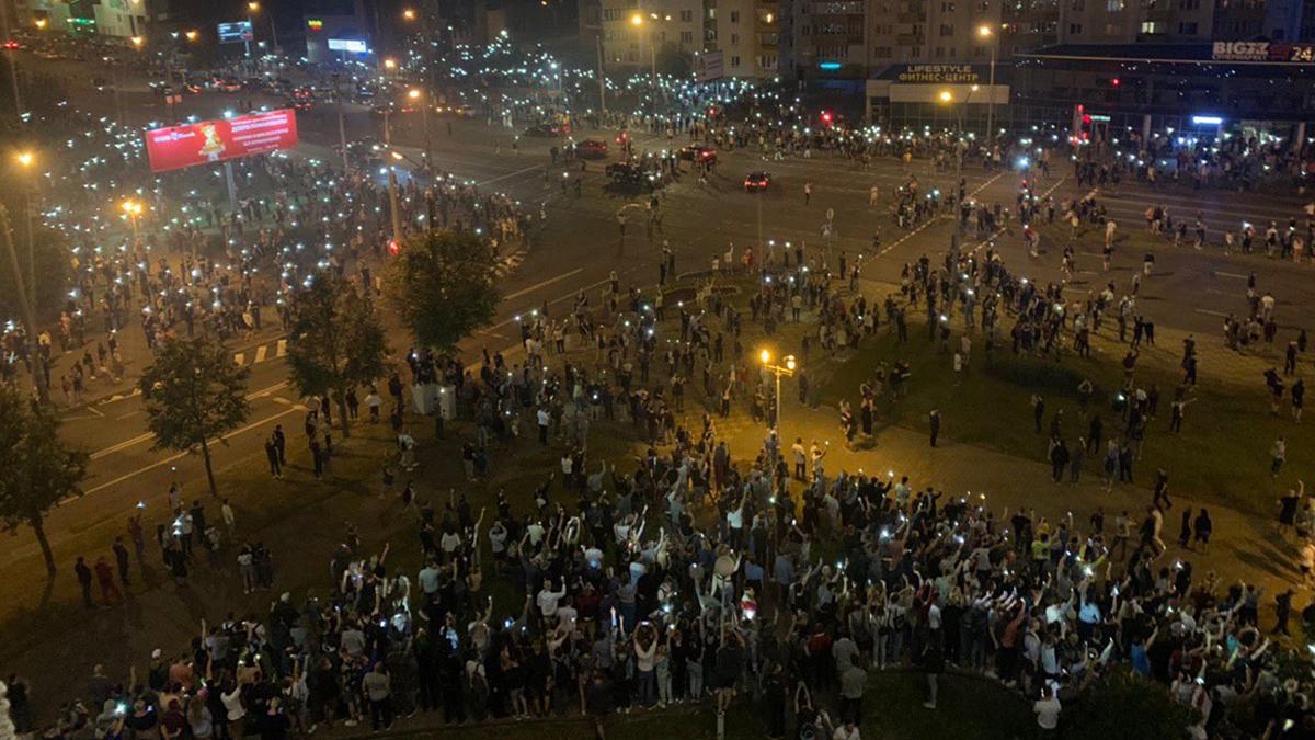 МВД Беларуси: во время протестов задержано около 3000 человек - Фото