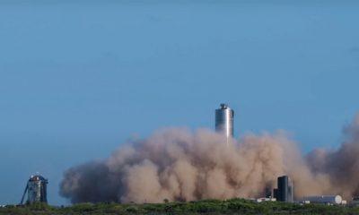 SpaceX провела первые летные испытания прототипа Starship - Фото