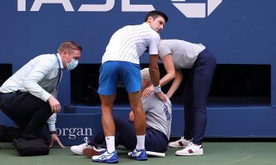 Новак Джокович дисквалифицирован на US Open - Фото