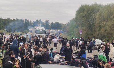 570 хасидов покидает белорусско-украинскую границу - Фото