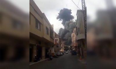 Сильный взрыв произошел на объекте «Хезболлы» на юге Ливана - Фото
