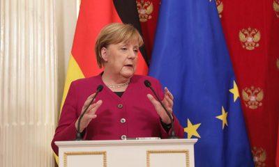 """Меркель: решение по """"Северному потоку-2"""" будет европейским - Фото"""
