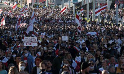 В Беларуси на акциях 20 сентября задержано более 200 человек - Фото