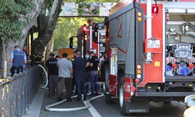 В Тбилиси у здания филармонии произошел взрыв - Фото
