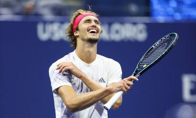 Немецкий теннисист Зверев стал первым финалистом US Open - Фото