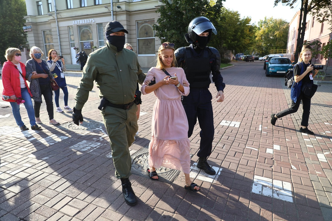 МВД: в субботу были задержаны 150 участников акций протеста - Фото
