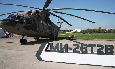 Россия завершит испытания самого тяжелого вертолета Ми-26Т2В в 2021 году - Фото