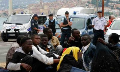 Французские власти задержали 116 мигрантов - Фото