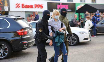В Минске начались задержания участников акции протеста - Фото