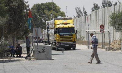 Израиль вновь открыл КПП на границе с Газой после соглашения о прекращении огня - Фото