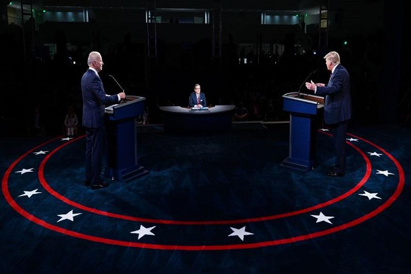 В США прошли первые дебаты Трампа и Байдена - Фото