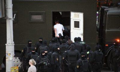 В ходе акций протеста в Минске задержали более 10 человек - Фото