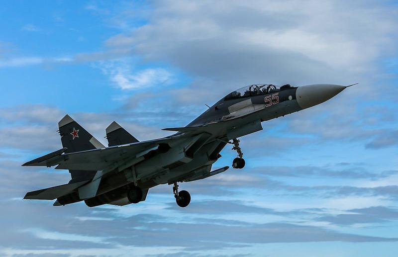 Су-30 разбился во время тренировки в Тверской области - Фото