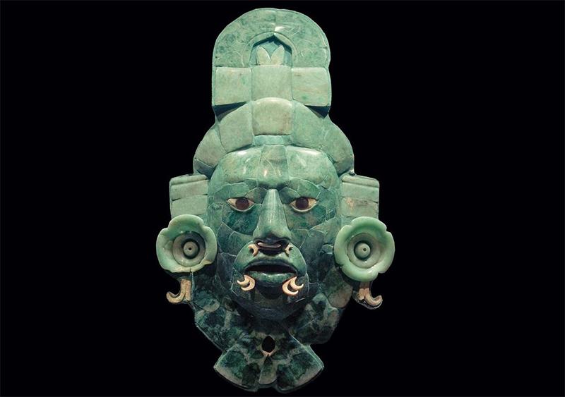 Бельгия вернула Гватемале маску Майя из нефрита - Фото