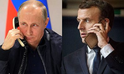 Путин и Макрон обсудили по телефону ситуацию в Беларуси - Фото