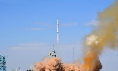 Китай успешно вывел на орбиту спутник дистанционного зондирования Gaofen-13 - Фото